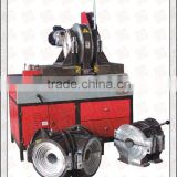 SHG315 multi-angle hydraulic butt fusion welding machine making elbow tee cross and Yshape fittings