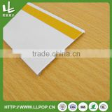 Adhesive Shelf Label Data Strip Holder