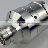 Din female connector for 1 5/8'' reaky cable, widely used in tunnel, subway, underground mobile communication