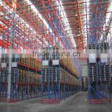 alibaba china narrow aisle powder pallet racking
