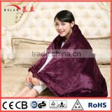 Double size high quality polar fleece Electric Heating Blanket with best price
