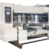 sells carton machine flexo printer machine/printing slotting machine for corrugated board