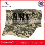 flat top embroidery army shako hat fashion customized promotion military army cap wholesale