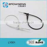 China EAS steel wire hook Anti-theft system wire / double loop or single loop lanyard Manufacture Supplier