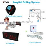 Nurse Calling Button System Wireless Pager Device used in the Hospital, Clinic