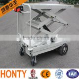 Hot sell Movable Manual or Electric Motor pallet jack scissor lift