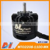 Maytech Stainless steel shaft 2208 1100KV rc brushless dc motor for drone quadcopter with camera