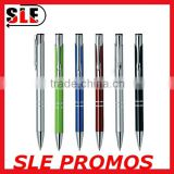 Executive Personalized Metal Ball Point Pen Silver