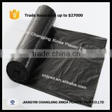 HDPE/LDPE custom printed cheap black garbage bag trash bag                                                                                                         Supplier's Choice