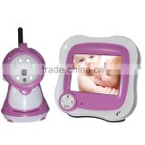 3.5inch lcd size wireless baby monitor 2.4G Nightvision Intercom video babysitter