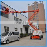Factory wanted diesel articulated folding arm boom lift top quality articulated folding arm boom lift for sale with CE/ISO