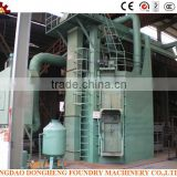 European standard CE, ISO approved Shot Blasting Machine Of Bag Filter Bag Type Dust Collector