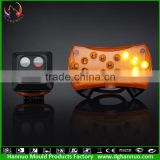 Good Quality samples are supported mini led signal lights led decorative bike light led signal tower light