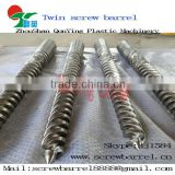 Twin coinical screw barrel foam board screw for extruder machinery xps foam board production line