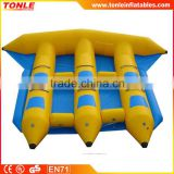 Sale!!! commercial 6 person inflatable fly fish ride /Inflatable interactive water game for sale