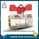 TMOK CE sanitary brass ball valve for manifold brass ball valve for ppr fittings brass ball valve for pump