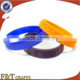 lovers luminous snap hand bracelet silicone wristband rubber bracelet for wholesale
