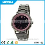 china high quality black dial metal men's watches curren