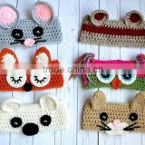 2015 spring summer cute crochet baby headband crochet headband animal patterns                                                                         Quality Choice