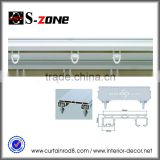 Durable waterproof flexible PVC shower curtain rail, curtain track, rail ceiling for curtain