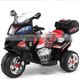 Ride On Motorcycle Toy 3 Power Wheels Harley Style Battery Powered Kid Electric