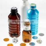 plastic bottle packing, Aluminum Foil induction seal liner, sealing film,aluminum foil wads