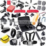 Sports Action Camera Accessories for SOOCOO S70 S60 Go Pro 4 3+ 3 2 1 Black Silver SJ4000 SJ5000 SJ6000 Sports Camera