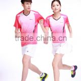 customized;quick-drying ,T-shirt ;Badminton clothing MS-16124