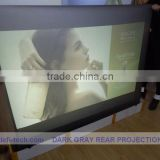 Dark grey color inflatable advertising ,holographic Projection screen for window advertisig!!