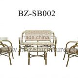 party wedding furniture,garden rattan sofa furniture, garden outside furniture, wicker rattan sofa set, bali furniture