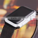 2015 New Arrival Stainless Steel Watch Band For Apple Watch Band 38mm Wrist Bracelet Buckle Clasp Watch Strap For Apple iPhone