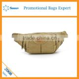 Waterproof waist bag canvas waist bag waist pack