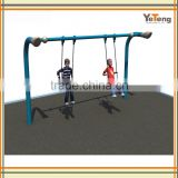 Outdoor Fancy Galvanized Steel Metal Swing,Outdoor garden swing set