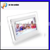 "7"" sample function factory sale tft cabient digital lcd video display player with holder portable"