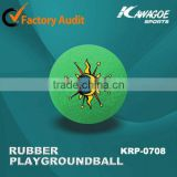 Promotional rubber kickball