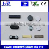 China manufacturer Metal blank Magnetic Name badge magnet For sale