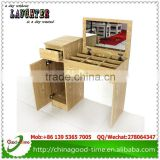 bedroom simple design MDF dressing table with stool