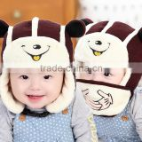 MZ3114 Baby Toddler Earflap Bomber Hats Winter Warm earmuffs Cap