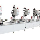 multi-head drilling machine for aluminum curtain wall or facada