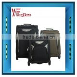 2014 china factory trolley case Fashion Soft easy carrying travel luggage sets/unique luggage sets/vintage luggage sets