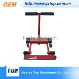Professional Heavy Duty Hand Trolley Red And Black Folding Foldable 4 Wheel Hand Cart Moving Dolly                                                                         Quality Choice