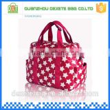 Polyester star pattern diaper shoulder hanging baby bag