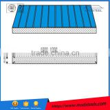 2015 Inexpensive PU/polyurethane/rock wool/glass wool sandwich panel for Roof house Sandwich Panel