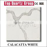 Hot Sales Calacatta White Quartz Stone