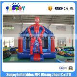 SUNJOY 2016 new designed inflatable bounce games, jumping castles china, bounce house for sale