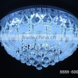hot sell led chandelier circular round ceiling lamp the Luxury ceiling lamp ball glass Crystal ball