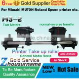 Automatic Media H1 H2 H3Take Up System Two motors for Mutoh/ Mimaki/ Roland/ Epson Printer--220V