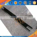 Hot! CNC BIG-ROLLER aluminium processing services extrusion profile, black coating aluminium milling part KICK SCOOTER