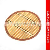 Round-style Bamboo Mats/Table Mats/Placemats For One Dollar Item,Heat Resistant For Kitchen Use