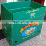 Corrugated shipping carton box frozen food shipping boxes large gift boxes with lids fancy gift box